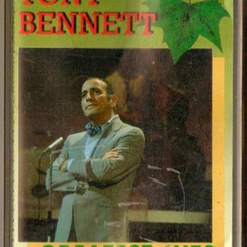 """""""Tony Bennett"""" Cassette Tape - Music Memorabilia"""