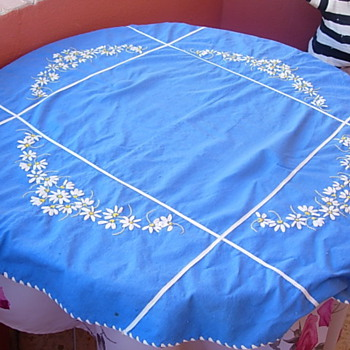 Handmade tablecloth - Kitchen
