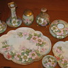 11 Piece Hand Painted Dresser Ware