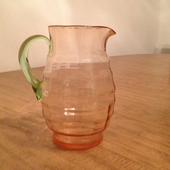Watermelon Glass Pitcher - Glassware