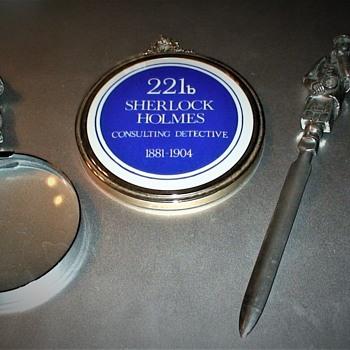 More Sherlock Holmes Items - Office