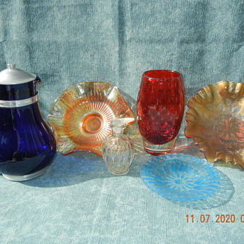 Glass and More Glass and a Webb England Glass Vase! :^D - Art Glass