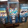 Vintage Oak Gumball machines