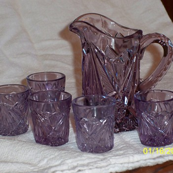 Minature Purple Glass - Glassware
