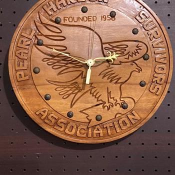 Pearl Harbor Survivors Clock - Wristwatches