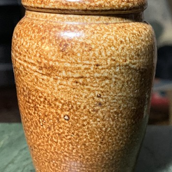 Tiny Stoneware Vase - Toothpick holder? - China and Dinnerware