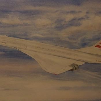 Queen of the Skies - Fine Art