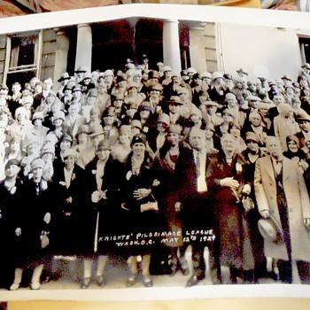May 12 1929 Washington D.C.. Photograph