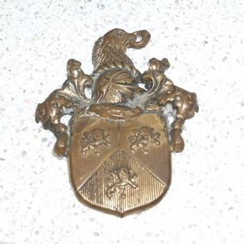 my founding for many yaers ago - Medals Pins and Badges