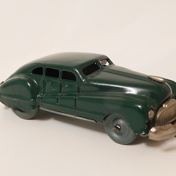 Late 40s Buick Fastback Sedan Made in Occupied Japan - Model Cars