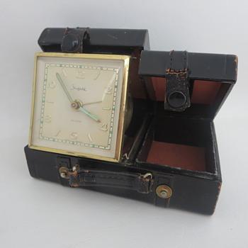 "Sheffield ""Suitcase"" Travel Alarm Clock - Clocks"