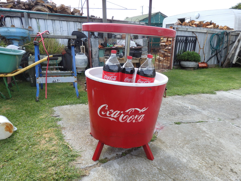 Coca Cola Esky Cooler Picnic Table Collectors Weekly