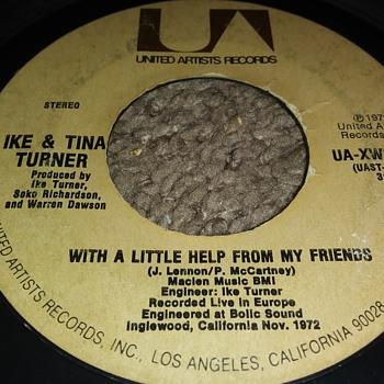IKE & TINA TURNER...ON 45 RPM VINYL - Records
