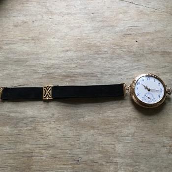 Antique Longines women's pocket watch