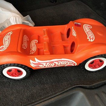 Large Vintage Hot Wheels Plastic Car (Prototype?) W. Germany - Model Cars