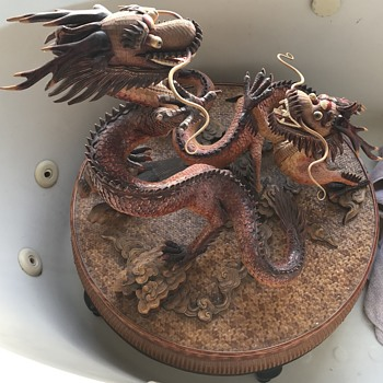 Help!  Can Anyone Please Help Us Find Information these Dragons - Asian