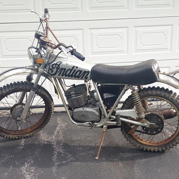 1973 Indian SS 125-5 Motorcycle - Motorcycles