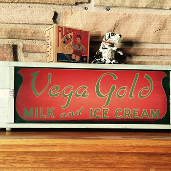 Vega Gold Dairy Sign - Signs