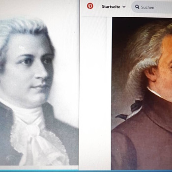 Item related to Wolfgang Amadeus Mozart ( Johann Heinrich Wilhelm Tischbein) Appel Family Connection - Fine Art