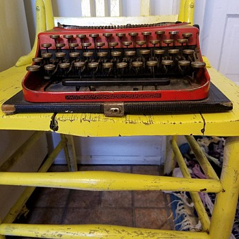 Great grandfathers royal typewriter  - Office