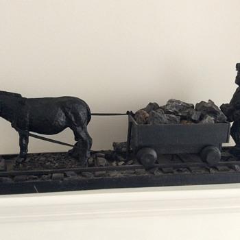 Coal and wood carving - Folk Art