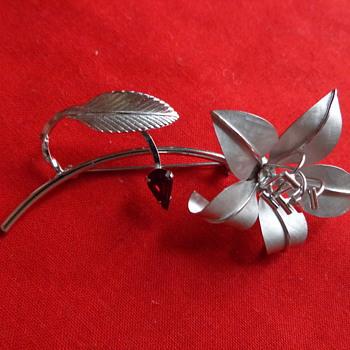 Bond Boyd Sterling Silver Pin - Fine Jewelry