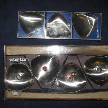 Danish Modern Stelton / Arne Jacobsen candle holders