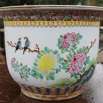Large Jardinere from a Berkeley Junkshop - Pottery