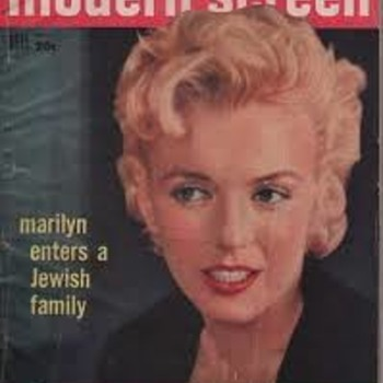 Modern Screen Nov 1956 Marilyn Monroe