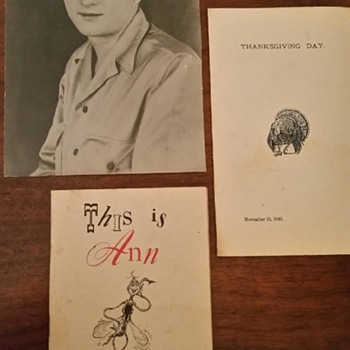 Dad's WWII picture - Photographs