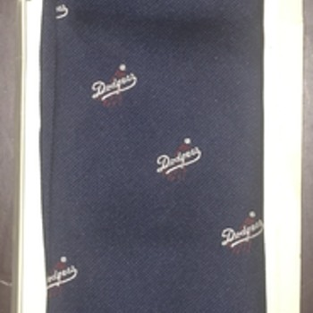 Los Angeles Dodger Tie  - Baseball