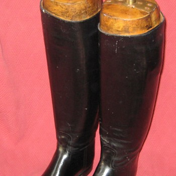 Vintage Abercrombie & Fitch Co. Equestrian Riding Boots with Original Lasts - Shoes