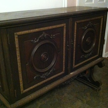 antique music sheet cabinet
