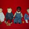 My Four Antique Effanbee Baby Grumpy Dolls
