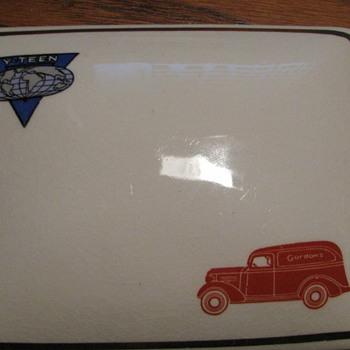 Gordon's Ceramic Covered Dish (Made by Balfour Ceramic) - Glassware