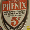 Tin Pheonix Sign-love the shape and colors