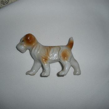 Small dog figure - Animals