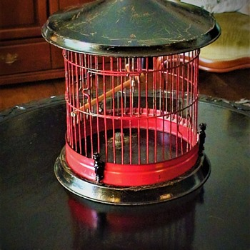 Asian Vintage Bird/ Wedding Cage 1940s - Asian