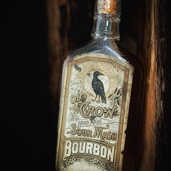 Old Crow bottle  - Bottles
