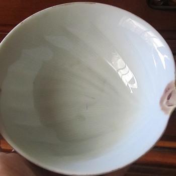 see through porcelain bowl - Asian