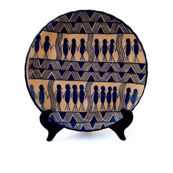 Pottery Plate - Please Help Identify
