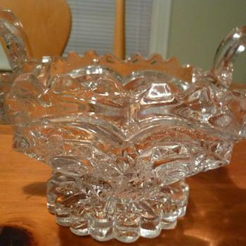 Vintage Cut Glass Sugar Bowl - Identification Help Would be Appreciated! - Glassware