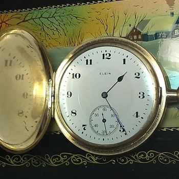 Elgin 16s Movement In Dueber 20 year Gold case - Pocket Watches