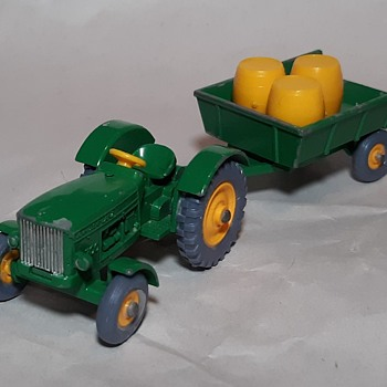Mostly Mechanical Matchbox Monday MB 50 and 51 John Deere Tractor and Trailer With Gray Wheels Plus Special Guests  - Model Cars
