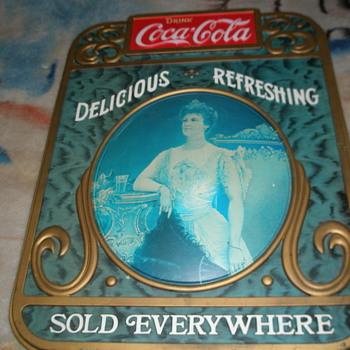 coca-cola advertising sign - Coca-Cola