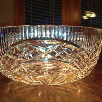 "8"" Waterford Bowl"