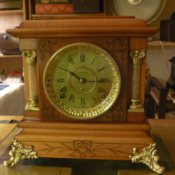 Two Completely restored Clock done by Me At the shop for a very good friend  - Clocks
