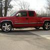 2000 Chevrolet Silverado 1500 toy truck/real toy truck