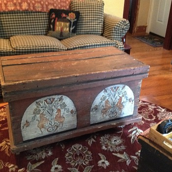 Pa. Dutch Chest - Furniture