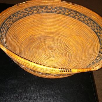 Native American woven Bowl - Native American